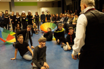 TTO leerlingen voeren historische shows op