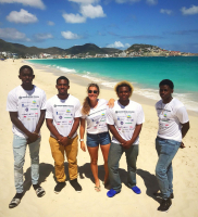 Leerlingen van St. Maarten te gast