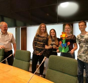 Leerlingen Carmelcollege winnen ontwerpwedstrijd