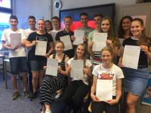 Goethe-diploma voor A5 leerlingen