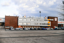 Tijdelijke locatie Stadion